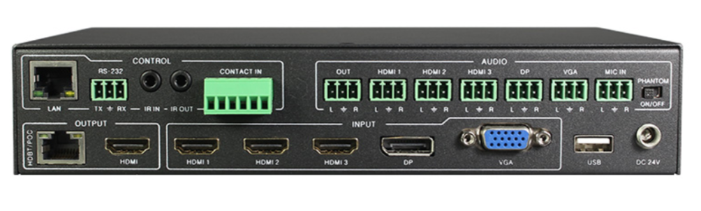 presentation switch BZ-SC-51UHD-HDBT back
