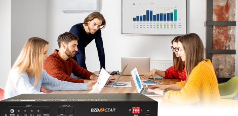 Liven BYOD Meetings with a Wireless Presentation Switcher