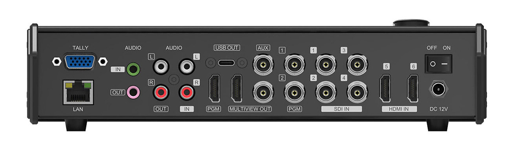 BG-MFVS61-G2 video switch ports